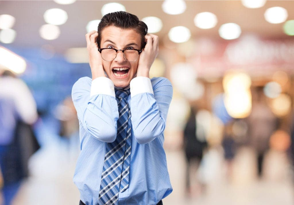 Man covering ear - not hearing most critical cybersecurity prep step