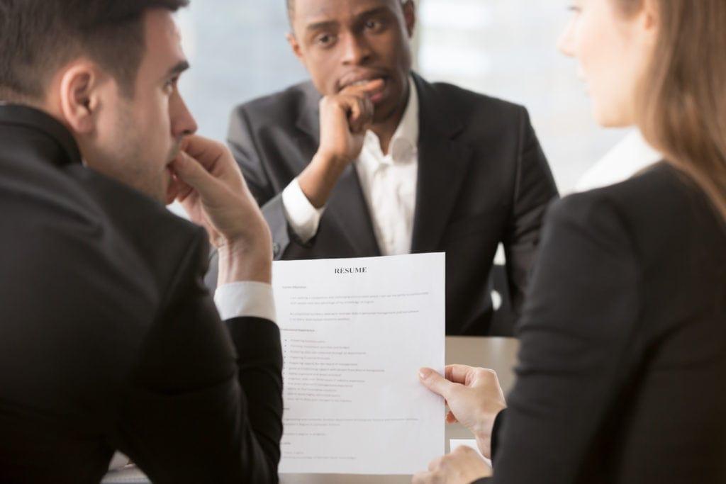 Do not lie during an interview